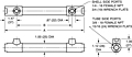 Dimensional Drawing for 23 Series Shell & Tube Heat Exchangers (00540)